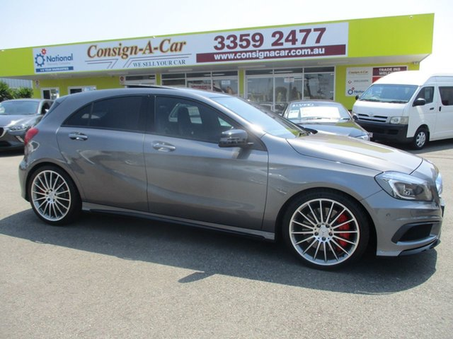 Used Mercedes-Benz A-Class W176 806MY A45 AMG SPEEDSHIFT DCT 4MATIC, 2015 Mercedes-Benz A-Class W176 806MY A45 AMG SPEEDSHIFT DCT 4MATIC Grey 7 Speed
