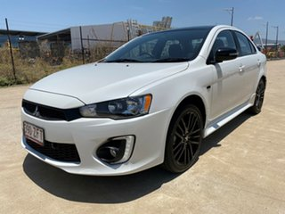 2017 Mitsubishi Lancer CF MY17 Black Edition White 6 Speed Constant Variable Sedan