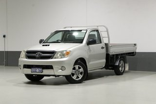 2005 Toyota Hilux KUN16R SR Silver 5 Speed Manual Cab Chassis.