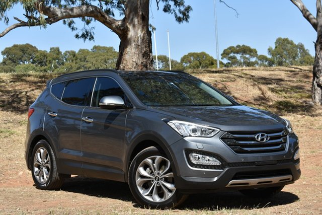 Used Hyundai Santa Fe DM2 MY15 Highlander, 2014 Hyundai Santa Fe DM2 MY15 Highlander Grey 6 Speed Sports Automatic Wagon
