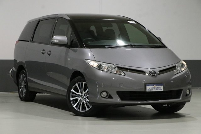 Used Toyota Tarago GSR50R MY16 Ultima V6, 2017 Toyota Tarago GSR50R MY16 Ultima V6 Grey 6 Speed Automatic Wagon