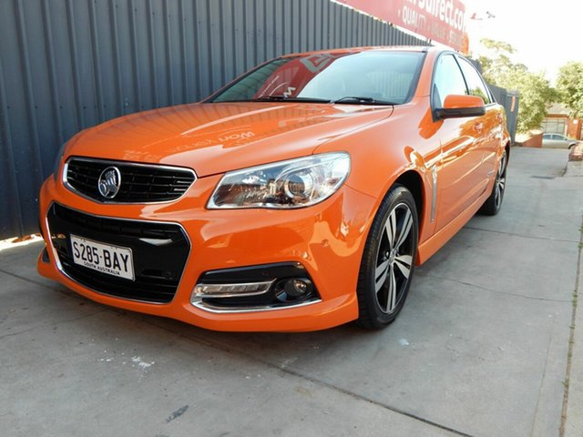 Used Holden Commodore VF MY14 SS Storm, 2014 Holden Commodore VF MY14 SS Storm Orange 6 Speed Manual Sedan