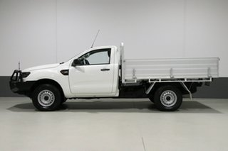 2016 Ford Ranger PX MkII XL 3.2 (4x4) White 6 Speed Automatic Cab Chassis