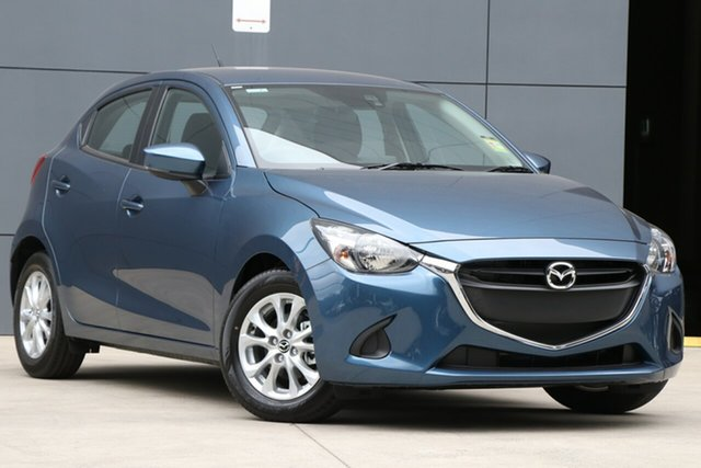 New Mazda 2 DJ2HAA Maxx SKYACTIV-Drive, 2019 Mazda 2 DJ2HAA Maxx SKYACTIV-Drive Eternal Blue 6 Speed Sports Automatic Hatchback
