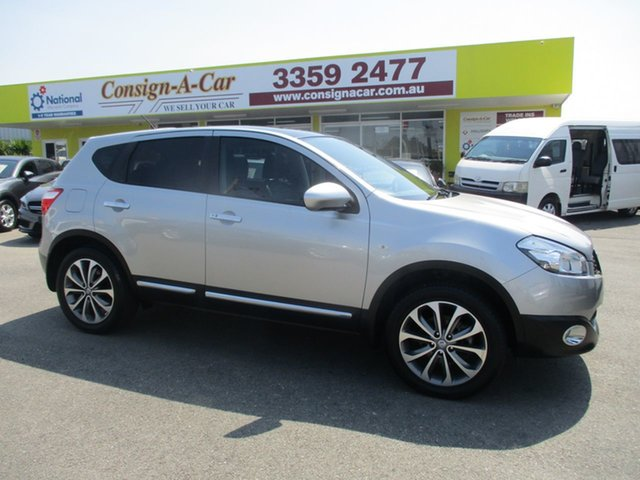Used Nissan Dualis J10 Series II MY2010 Ti Hatch X-tronic, 2010 Nissan Dualis J10 Series II MY2010 Ti Hatch X-tronic Silver 6 Speed Constant Variable Hatchback