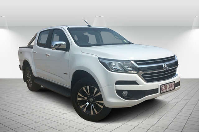 Used Holden Colorado RG MY17 LTZ Pickup Crew Cab, 2016 Holden Colorado RG MY17 LTZ Pickup Crew Cab White 6 Speed Manual Utility