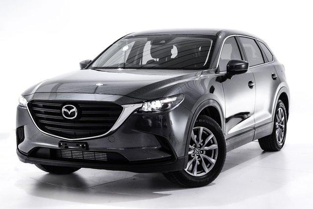 Used Mazda CX-9 TC Sport SKYACTIV-Drive, 2018 Mazda CX-9 TC Sport SKYACTIV-Drive Grey 6 Speed Sports Automatic Wagon