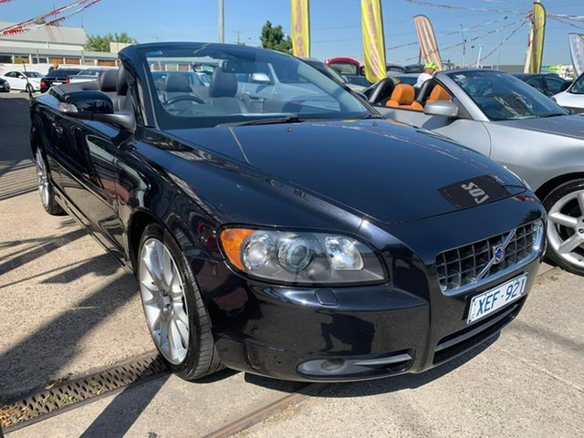 Used Volvo C70 M Series MY09 T5, 2009 Volvo C70 M Series MY09 T5 Black 5 Speed Sports Automatic Convertible