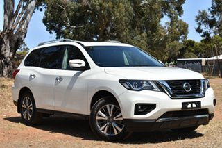 2018 Nissan Pathfinder R52 Series II MY17 ST-L X-tronic 2WD White 1 Speed Constant Variable Wagon.