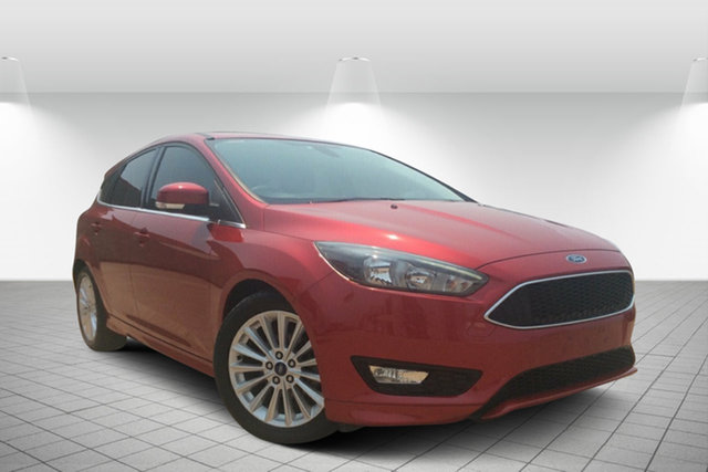 Used Ford Focus LZ Sport, 2015 Ford Focus LZ Sport Red 6 Speed Automatic Hatchback