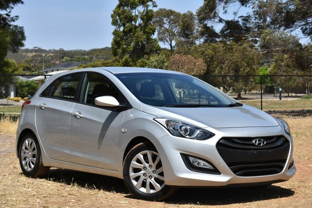 Used Hyundai i30 GD2 Active, 2014 Hyundai i30 GD2 Active Silver 6 Speed Sports Automatic Hatchback