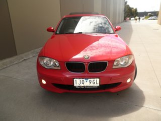 2005 BMW 120i E87 120i Red Revenge 6 Speed Manual Hatchback