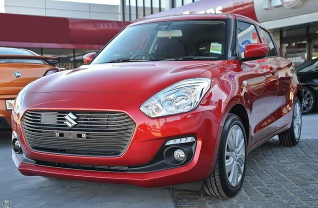 New Suzuki Swift  , 2019 Suzuki Swift SWIFT6 SWIFT GL NAVIGATOR Burning Red Hatchback