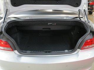 2012 BMW 1 Series E88 LCI MY0312 120i Steptronic Silver 6 Speed Sports Automatic Convertible