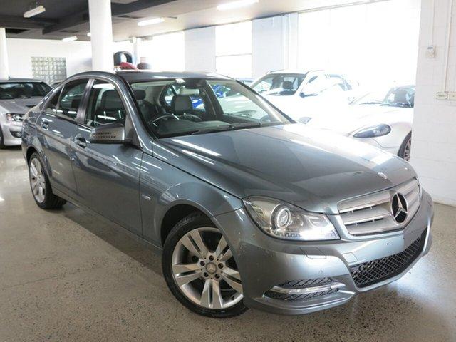 Used Mercedes-Benz C-Class W204 MY11 C200 CDI BlueEFFICIENCY 7G-Tronic +, 2011 Mercedes-Benz C-Class W204 MY11 C200 CDI BlueEFFICIENCY 7G-Tronic + Silver 7 Speed