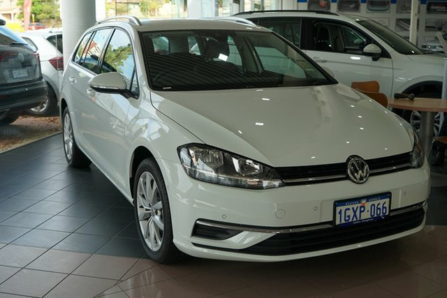 Demo Volkswagen Golf 7.5 MY19.5 110TSI DSG Comfortline, 2019 Volkswagen Golf 7.5 MY19.5 110TSI DSG Comfortline Pure White 7 Speed
