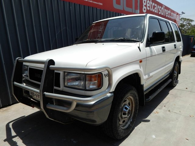 Used Holden Jackaroo UBS XS, 1992 Holden Jackaroo UBS XS White 4 Speed Automatic Wagon