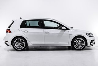 2017 Volkswagen Golf 7.5 MY18 110TSI DSG Highline White 7 Speed Sports Automatic Dual Clutch