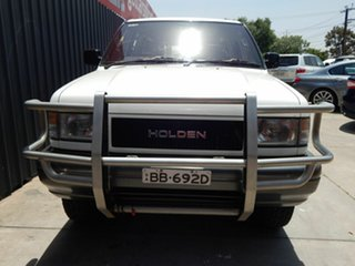 1992 Holden Jackaroo UBS XS White 4 Speed Automatic Wagon.