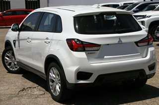 2021 Mitsubishi ASX XD MY21 ES (2WD) White Continuous Variable Wagon.