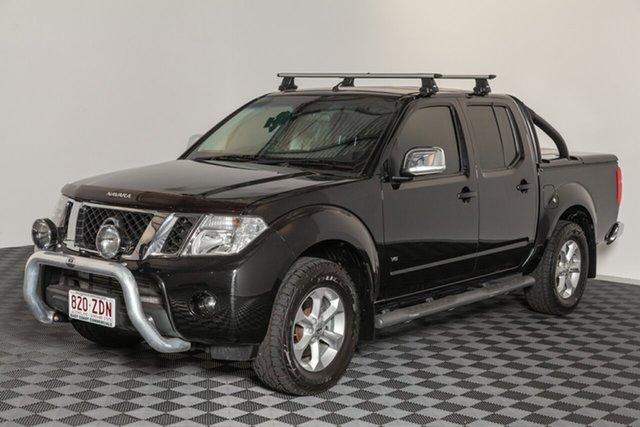 Used Nissan Navara D40 MY11 ST-X 550, 2012 Nissan Navara D40 MY11 ST-X 550 Black 7 speed Automatic Utility
