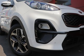 2020 Kia Sportage QL MY20 SX 2WD Clear White 6 Speed Sports Automatic Wagon.