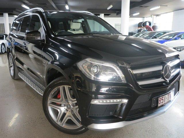 Used Mercedes-Benz GL-Class X166 GL63 AMG SPEEDSHIFT PLUS, 2014 Mercedes-Benz GL-Class X166 GL63 AMG SPEEDSHIFT PLUS Black 7 Speed Sports Automatic Dual Clutch