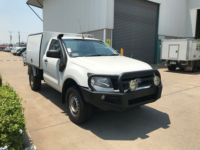 Used Ford Ranger PX XL, 2015 Ford Ranger PX XL White 6 speed Automatic Cab Chassis