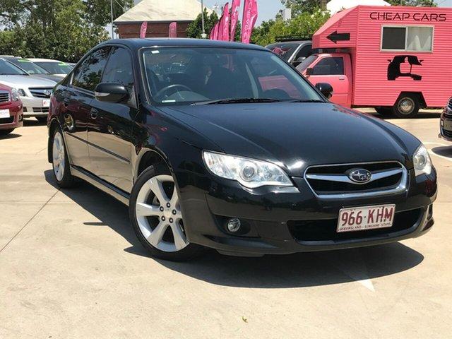 Used Subaru Liberty B4 MY07 Premium Pack AWD, 2007 Subaru Liberty B4 MY07 Premium Pack AWD Black 4 Speed Sports Automatic Sedan