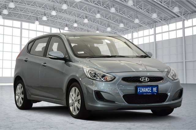 Used Hyundai Accent RB6 MY19 Sport, 2018 Hyundai Accent RB6 MY19 Sport Silver 6 Speed Sports Automatic Hatchback