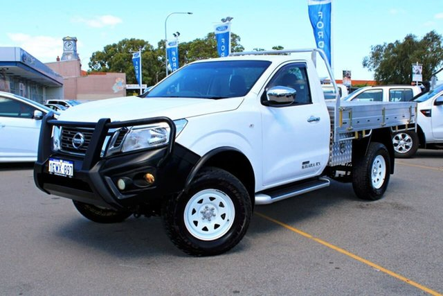 Used Nissan Navara D23 RX, 2015 Nissan Navara D23 RX White 7 Speed Sports Automatic Cab Chassis