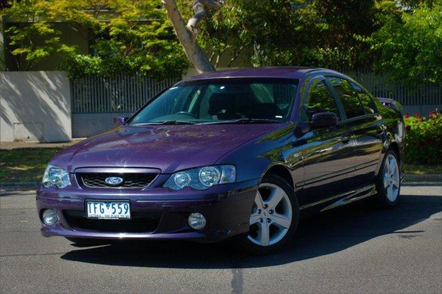 Used Ford Falcon BA XR6, 2004 Ford Falcon BA XR6 Purple 4 Speed Sports Automatic Sedan
