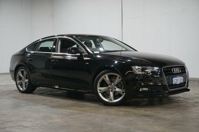 Used Audi A5 8T MY16 Sportback Multitronic, 2015 Audi A5 8T MY16 Sportback Multitronic Black 8 Speed Constant Variable Hatchback