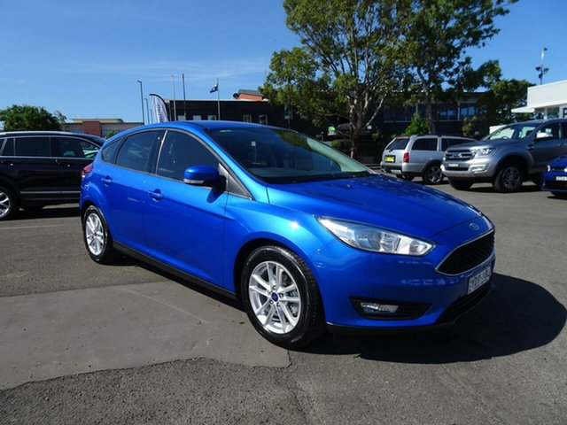 Used Ford Focus LZ Trend, 2016 Ford Focus LZ Trend Winning Blue 6 Speed Automatic Hatchback