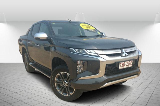 Used Mitsubishi Triton MR MY19 GLS Double Cab, 2019 Mitsubishi Triton MR MY19 GLS Double Cab Grey 6 Speed Sports Automatic Utility