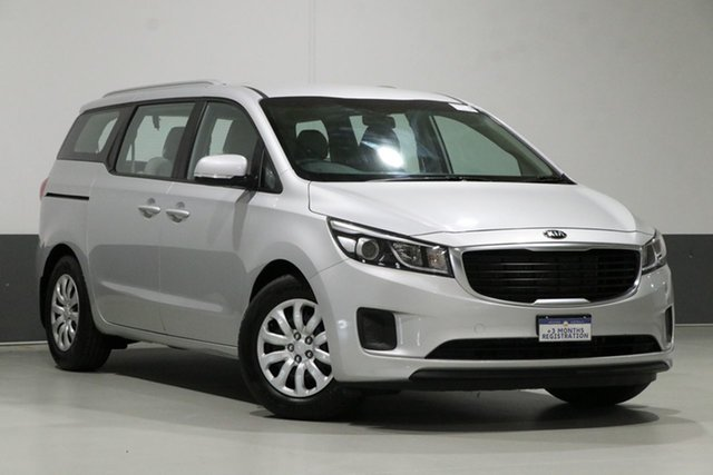 Used Kia Carnival YP MY17 S, 2017 Kia Carnival YP MY17 S Silver 6 Speed Automatic Wagon