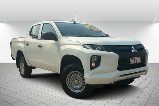 Used Mitsubishi Triton MR MY19 GLX Double Cab, 2019 Mitsubishi Triton MR MY19 GLX Double Cab White 6 Speed Sports Automatic Utility