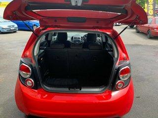 2015 Holden Barina TM MY15 CD Blaze Red 6 Speed Automatic Hatchback