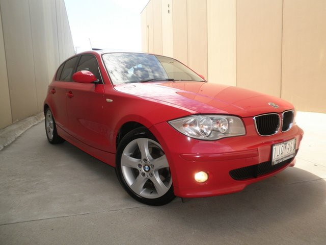 Used BMW 1 Series E87 120i, 2005 BMW 1 Series E87 120i Red Revenge 6 Speed Manual Hatchback