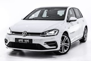 2017 Volkswagen Golf 7.5 MY18 110TSI DSG Highline White 7 Speed Sports Automatic Dual Clutch.