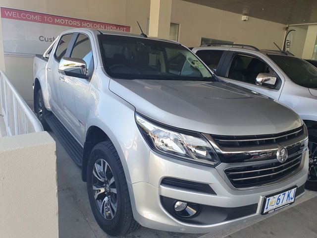 Demo Holden Colorado RG MY19 LTZ Pickup Crew Cab, 2019 Holden Colorado RG MY19 LTZ Pickup Crew Cab Nitrate 6 Speed Sports Automatic Utility