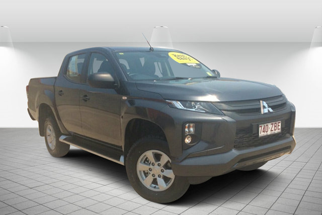 Used Mitsubishi Triton MR MY19 GLX+ Double Cab, 2019 Mitsubishi Triton MR MY19 GLX+ Double Cab Grey 6 Speed Sports Automatic Utility