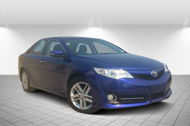 Used Toyota Camry ASV50R Atara SL, 2015 Toyota Camry ASV50R Atara SL Blue 6 Speed Sports Automatic Sedan