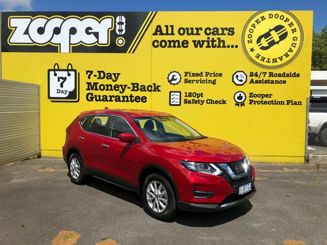 Used Nissan X-Trail T32 Series II ST X-tronic 4WD, 2019 Nissan X-Trail T32 Series II ST X-tronic 4WD Ruby Red 7 Speed Constant Variable Wagon