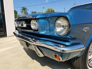 1966 Ford Mustang GT Blue and White 3 Speed Automatic Coupe