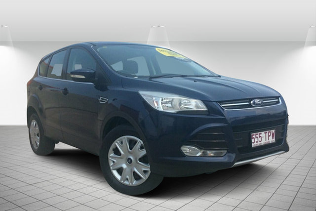 Used Ford Kuga TF Ambiente AWD, 2013 Ford Kuga TF Ambiente AWD Blue 6 Speed Sports Automatic Wagon