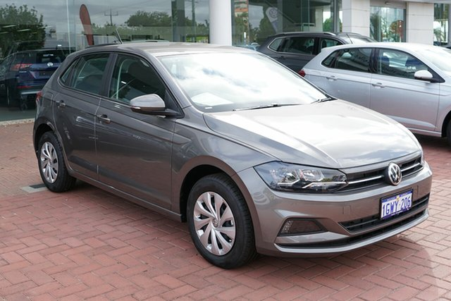 Demo Volkswagen Polo AW MY19 70TSI DSG Trendline, 2019 Volkswagen Polo AW MY19 70TSI DSG Trendline Limestone Grey 7 Speed Sports Automatic Dual Clutch