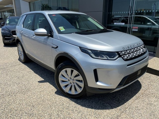 New Land Rover Discovery Sport L550 20MY D150 S, 2019 Land Rover Discovery Sport L550 20MY D150 S Indus Silver 9 Speed Sports Automatic Wagon