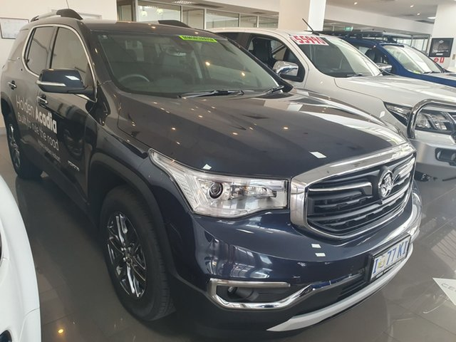 Demo Holden Acadia AC MY19 LTZ AWD, 2018 Holden Acadia AC MY19 LTZ AWD Blue Steel 9 Speed Sports Automatic Wagon