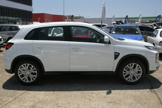 2021 Mitsubishi ASX XD MY21 ES (2WD) White Continuous Variable Wagon